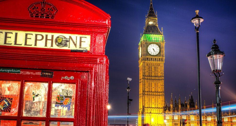 Прогулка с англичанином по ночному Лондону.