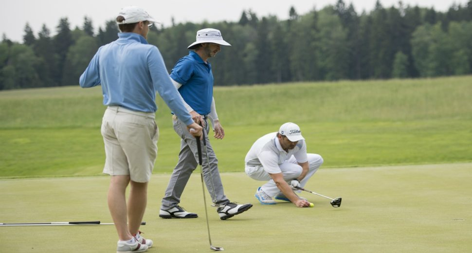 Игра в гольф с англичанином.