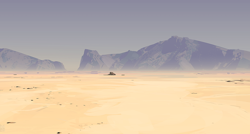 Величественные пустыни Австралии.