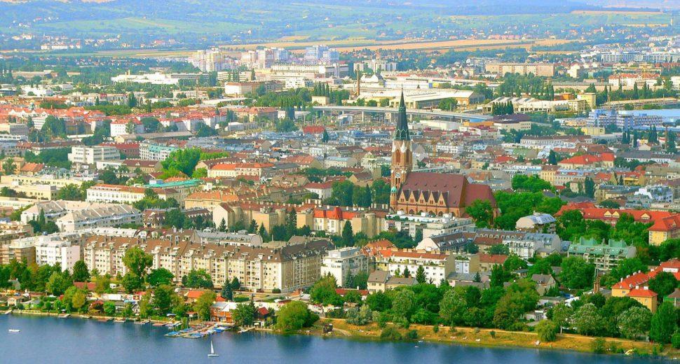 Историческая столица Австрии.