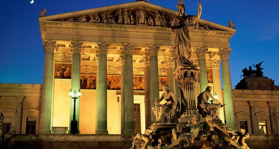 Красивейшая архитектура Австрии.