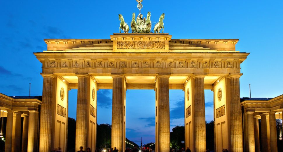 Путешествие с немцем по Берлину.