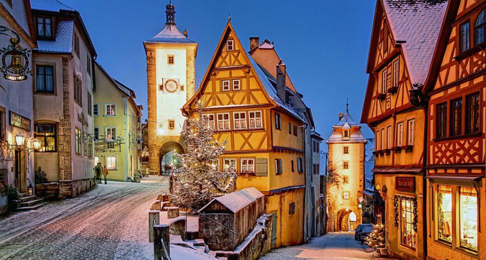 Незабываемое путешествие по красивым местам Германии.