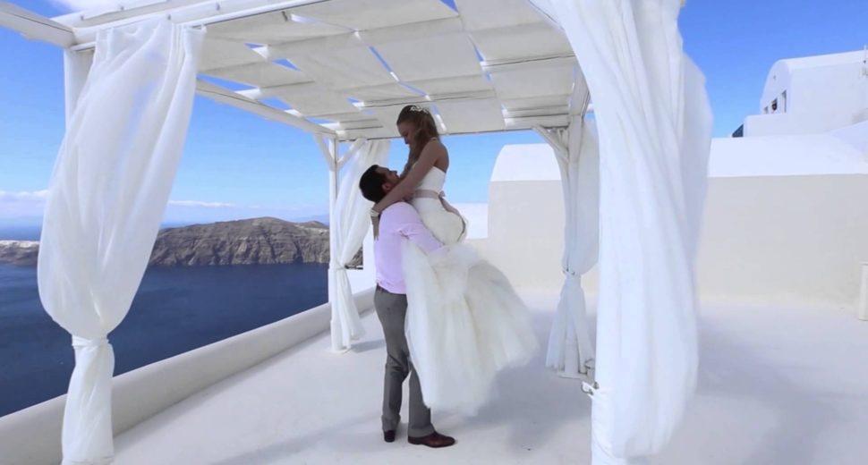 Свадебная церемония в Греции.