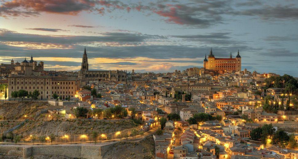 Вечерняя прогулка по Испании.