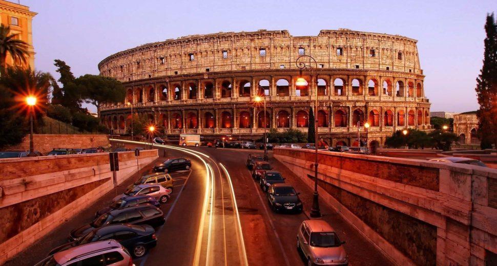 Прогулка по вечернему Риму.