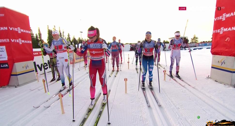 Лыжная команда Норвегии.