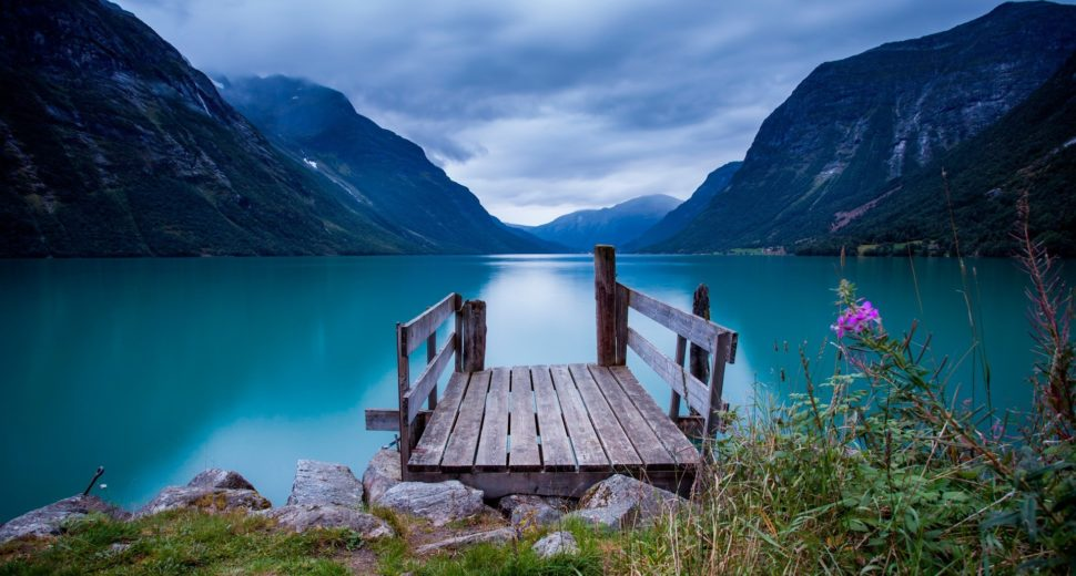 Незабываемый медовый месяц в Норвегии.
