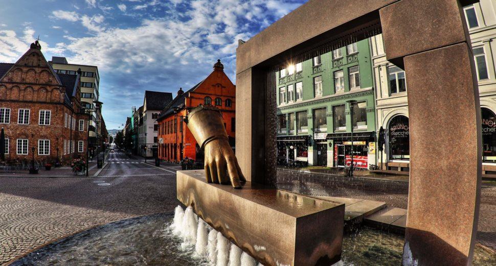 Чудесные фонтаны Норвегии.