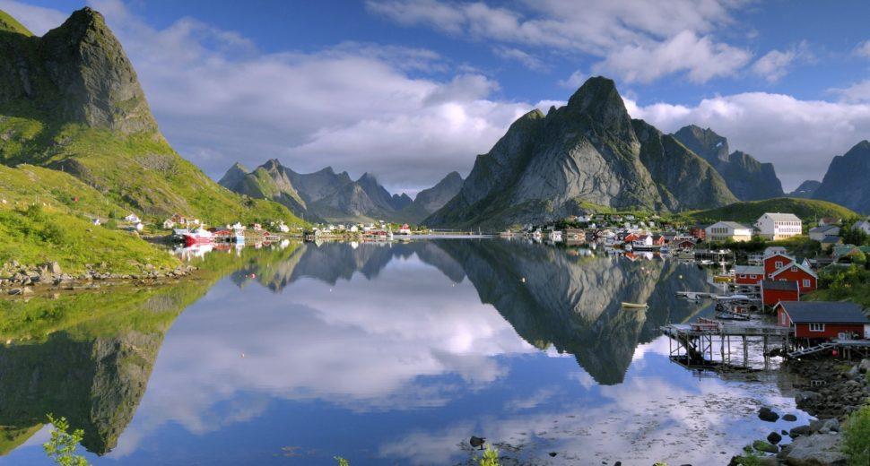 Самое лучшее место для уединения с норвежцем.