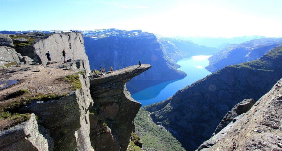 Необыкновенная природа Норвегии.