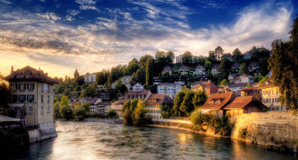 Рассвет с швейцарцем.