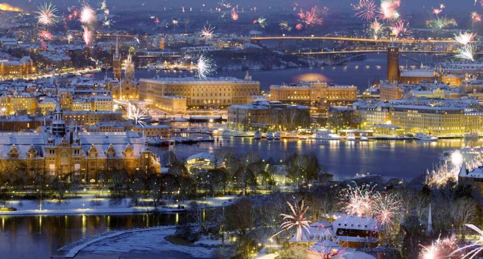 Встреча незабываемого Нового года с шведом в столице Швеции.