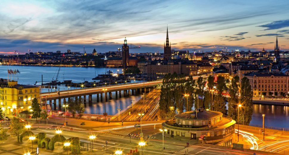Красивая прогулка по местам столицы Швеции.